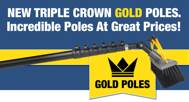 Triple Crown Gold Poles