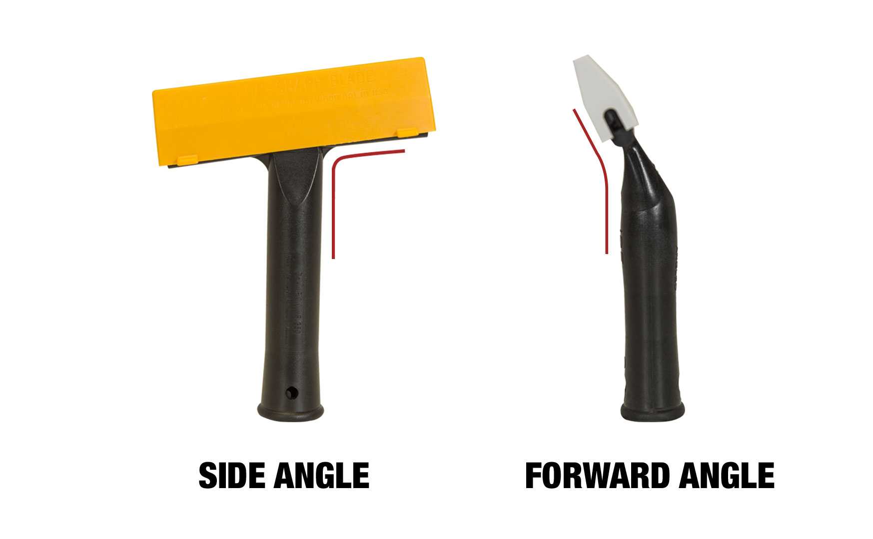 Attributes Of Scrapers: Angle Of Scraper