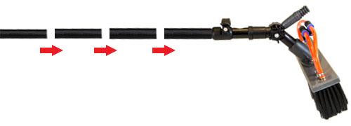 Modular WaterFed Pole