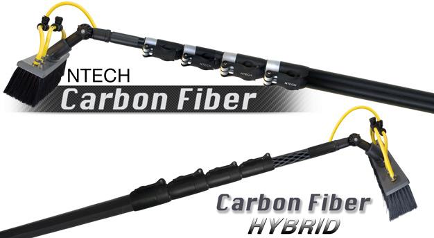 NTECH Carbon Fiber Poles