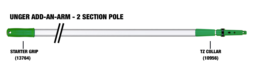 Add an Arm 2 Section Pole
