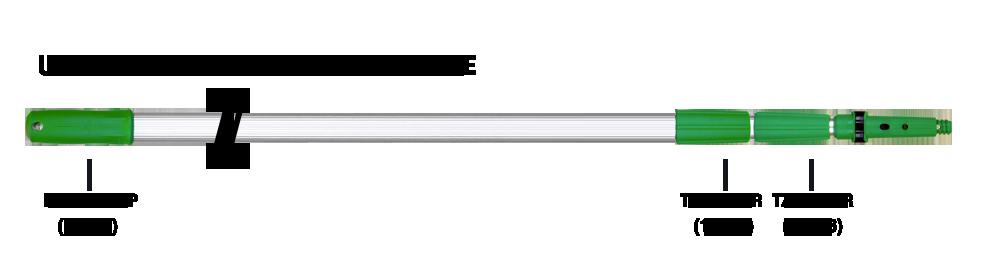 Add an Arm 3 Section Pole
